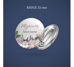Badge Super témoin Couronne 32 mm