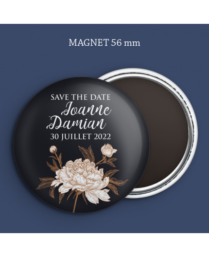 Magnet Save the date Floraison