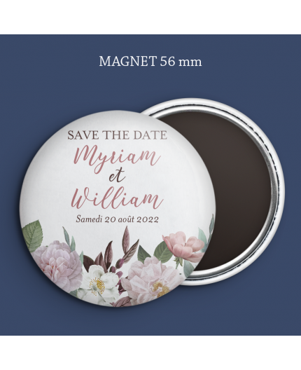 Magnet Save the date Botanique