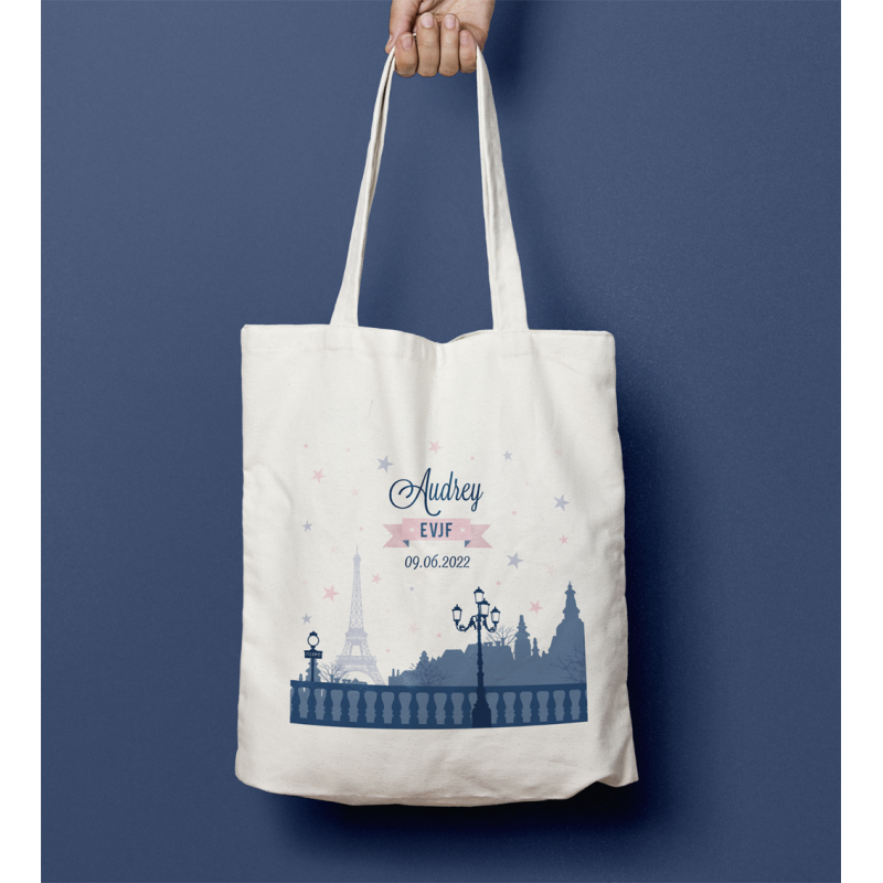 Tote bag EVJF Paris