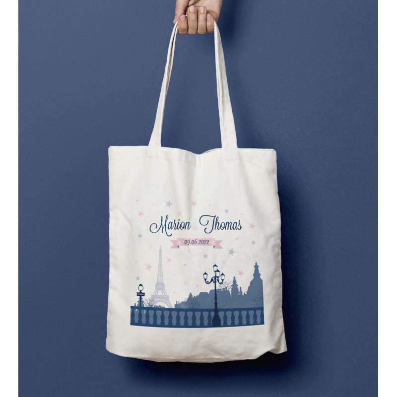 Tote bag mariage Paris