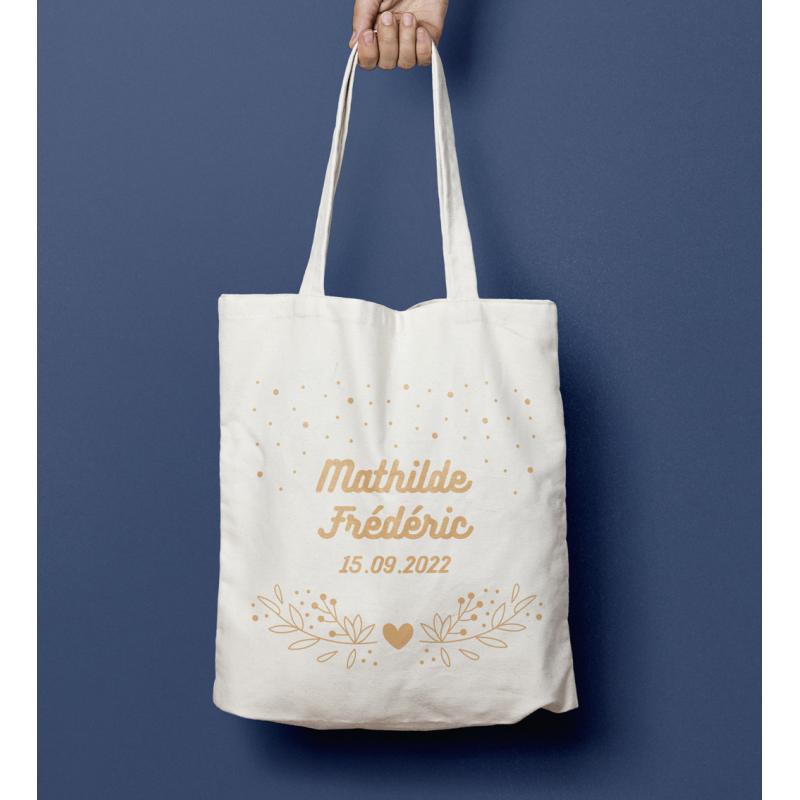 Tote bag mariage Arabesque
