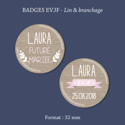 Sticker mariage Lovely geometry