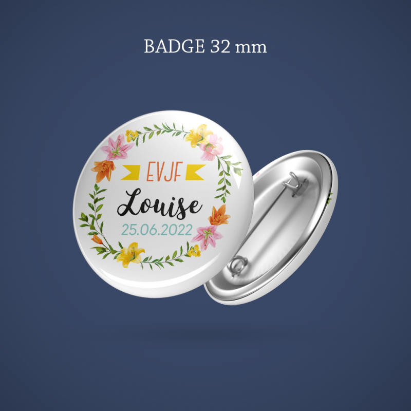 Badge EVJF Lys 32 mm