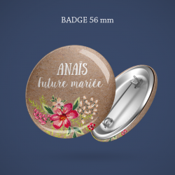 Badges mariage Guirlande étoilée