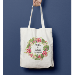 Tote Bag  mariage Voyage imaginaire