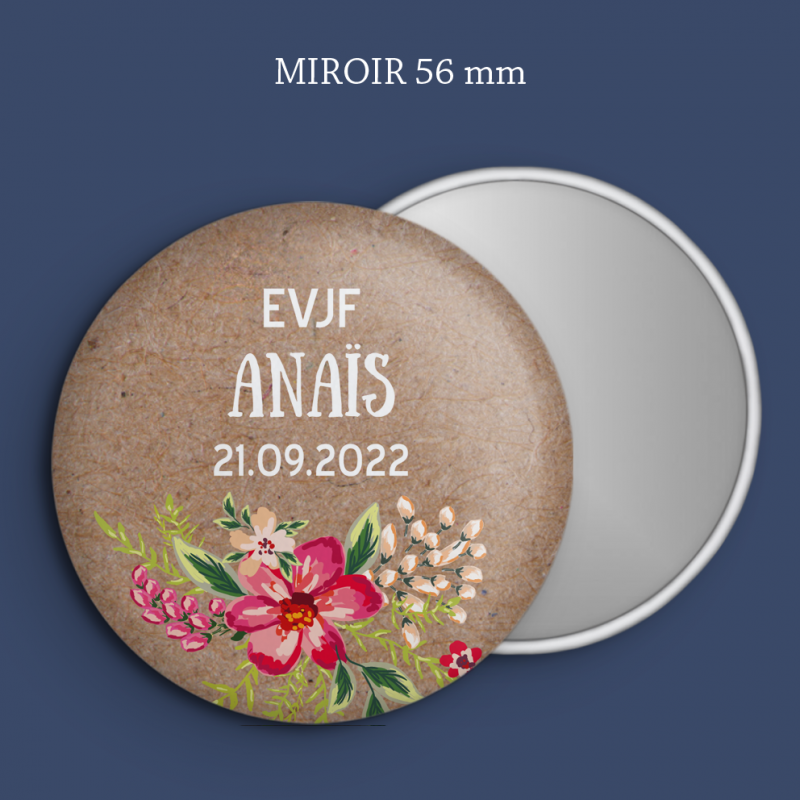 Miroir EVJF Gravure Aloha