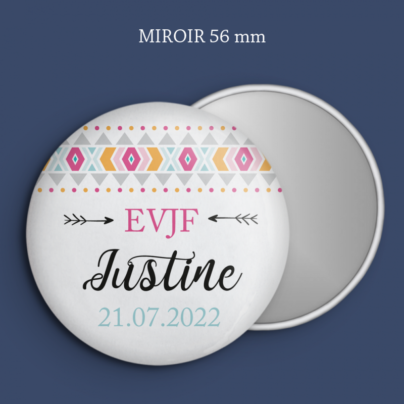 Miroir EVJF Boho