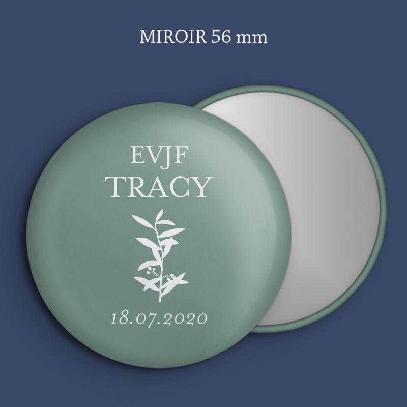 Miroir EVJF Branche olivier