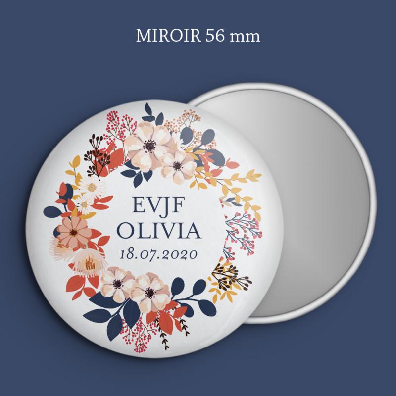 Miroir EVJF Printemps
