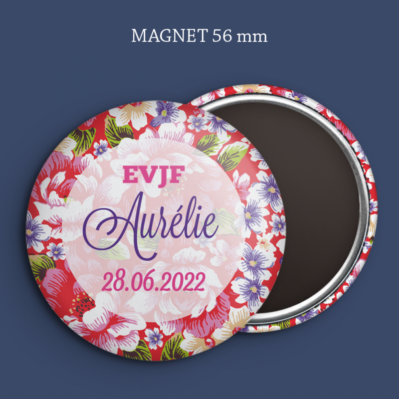 Magnet Save the date Pivoine