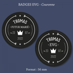 Badge EVJF Diamant
