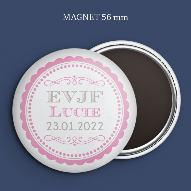 Magnet Save the date Shabby