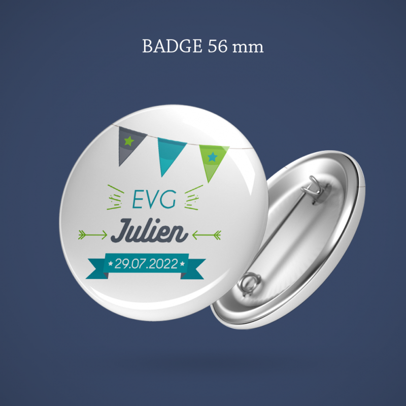 Badge EVG Fanions 56 mm