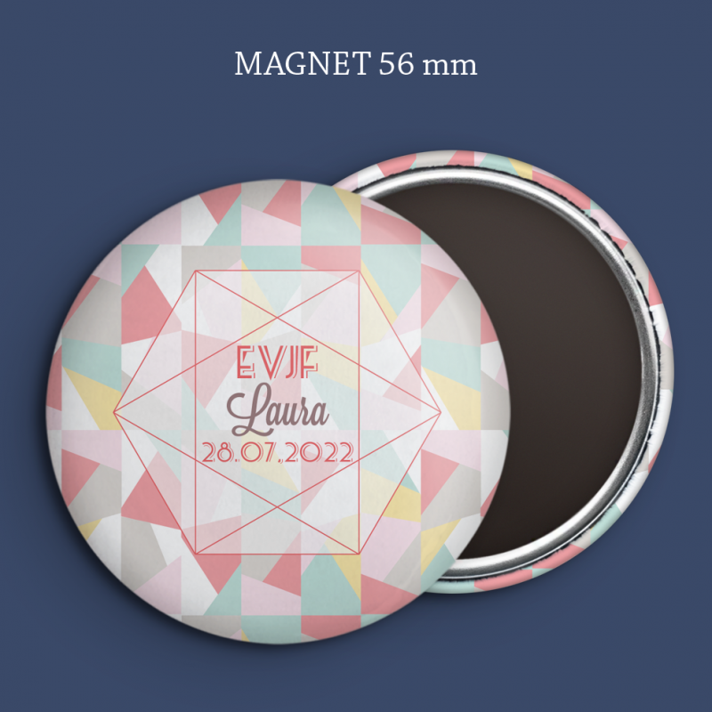 Magnet Save the date Tendre pastel