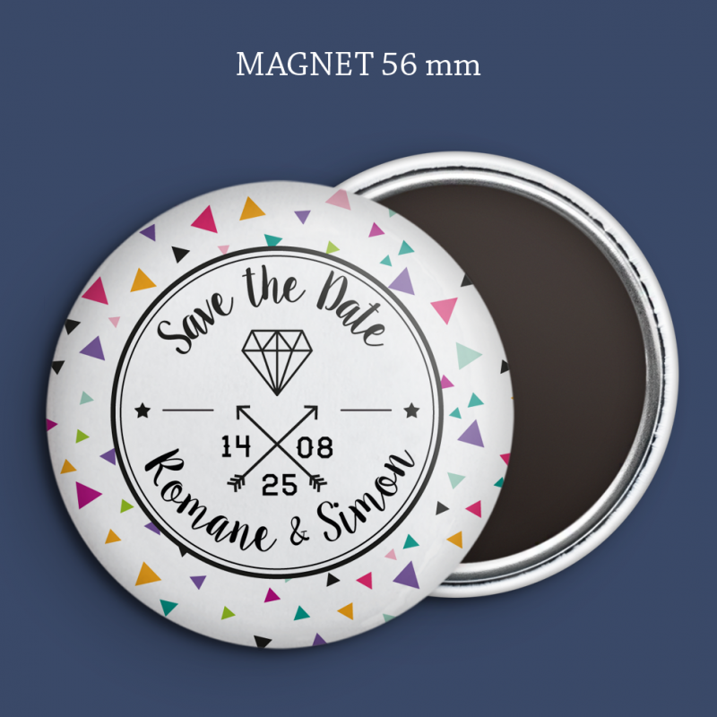 Magnet Save the date Diamant