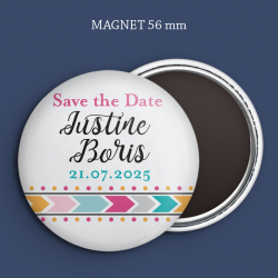 Magnet Save the date Boho