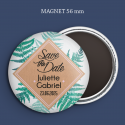 Magnet Save the date Succulente