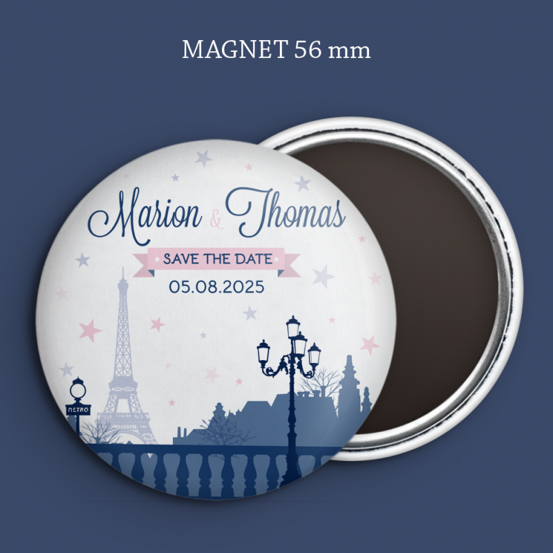Magnet Save the date Paris