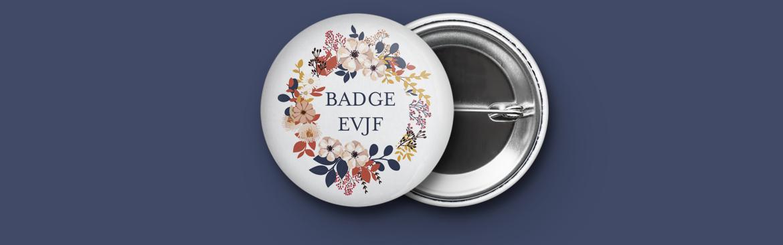 Badge EVJF