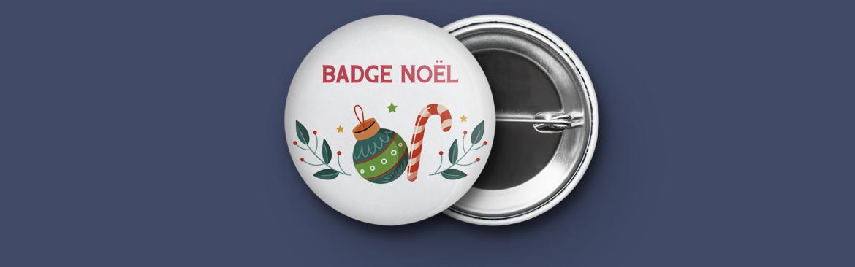 Badge Noël